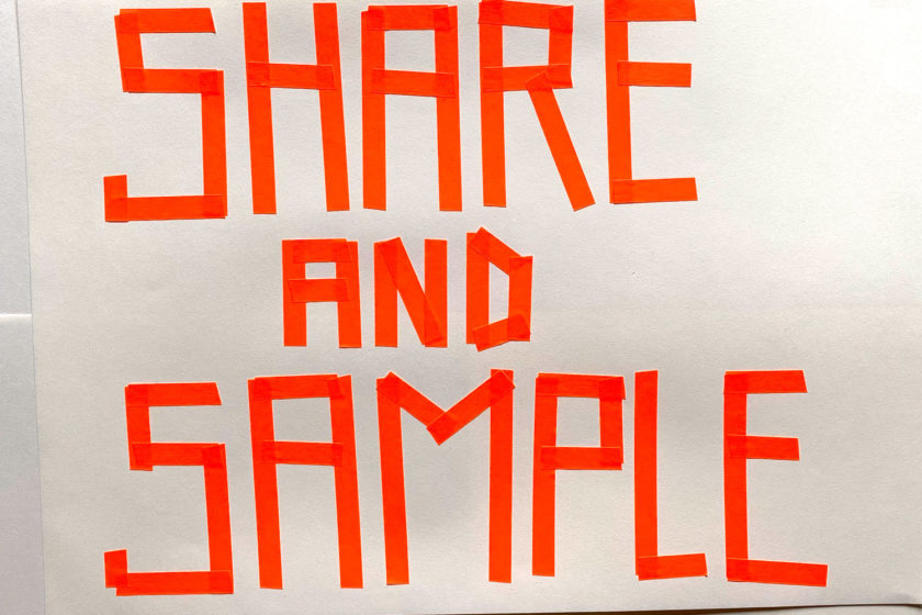 Skill Set 3: Share and sample